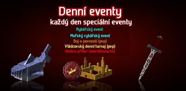 Eventy každý den